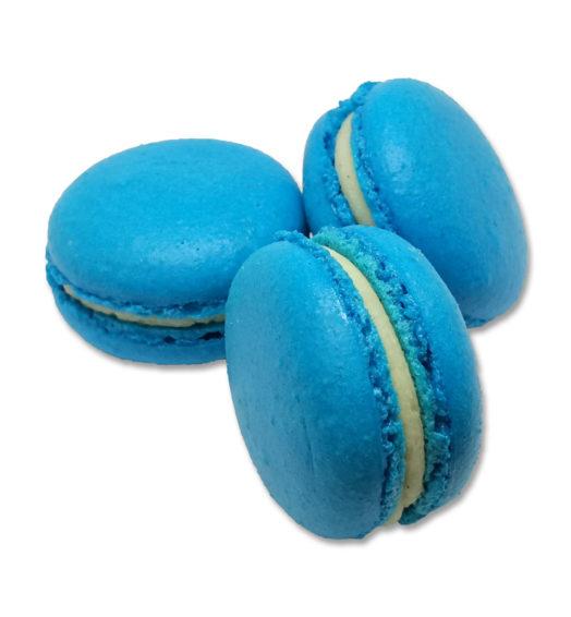Macaron Blue Curaçao
